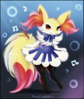 Piano Braixen
