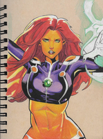 More Starfire by Catiza