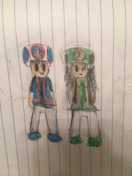 Thomas and emily as toads by supertoad129