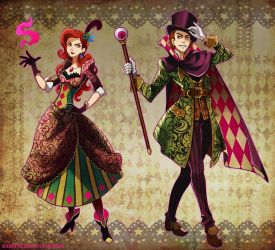 Tricksters by Radittz