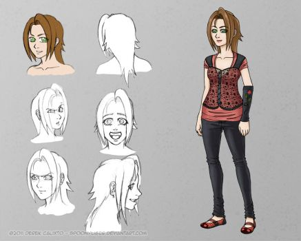 MC24 Ch Sheet - Lucy by spoonyliger