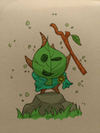 The korok Champion by May-Lene