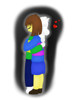 Forgive and confort him... (Frisk x Asriel!) by TheTigressFlavy