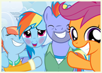 Family Snapshots IV - Rainbow Dash by Mundschenk85