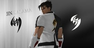 Jin Kazama Wallpaper by DragonWarrior-H
