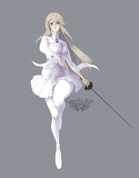 Fencer Type Character by camellia-shia
