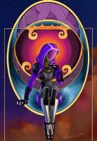 Psychedelic Tali by Atrociraptor
