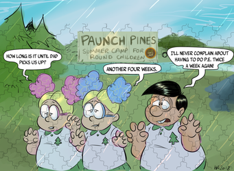 Camp A Jam - Paunch Pines by TopperHay
