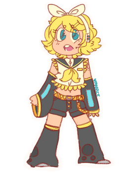 Kagamine Rin [TRADE] by SolarRadiance