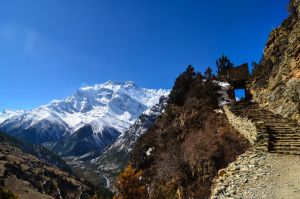Annapurna Circuit - Day 5 - Stair way by LLukeBE