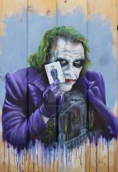 Why So Serious by lisalargen