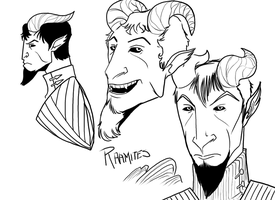 Character Design - Raamites by Timetower