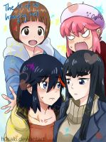 Purikura of the Kill la Kill Girls by h0saki