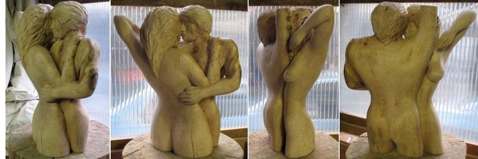 firewood couple by carvenaked
