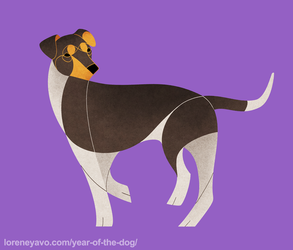 Year of the Dog - Brazilian Terrier by Kelgrid