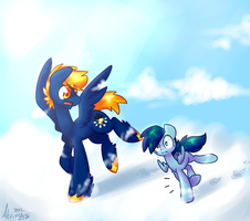 One Clumsy Filly by Atrixy