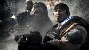 Gears of war game wallpaper by onejian