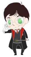 Harry Potter by BertMel