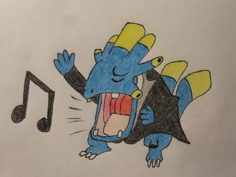 Mortarhead singer joins the Pokemon Orchestra by wastelander-nick