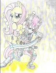 Movie Version Forestmist and Fluttershy by PiplupSTARSCommander