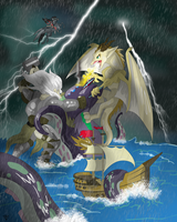 Brony Analysis DND - Battle of the Kraken by Lightning-Bliss