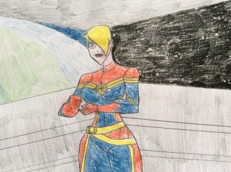 Captain Marvel (Timm Style) by tb86