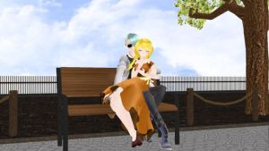 If they were happy | Rika // V by Alex-MMD-Studios