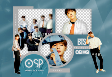 BTS PNG PACK #7 by Upwishcolorssx
