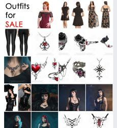 Outfits for sale by Elisanth