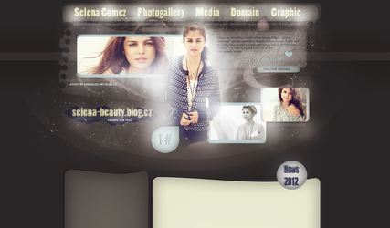 Layout with Selena Gomez by LadyAmme
