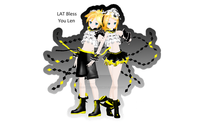 .:DL:.LAT Bless You Kagamines [115 Watchers Gift!] by ImNerdyWhoGivesADamn