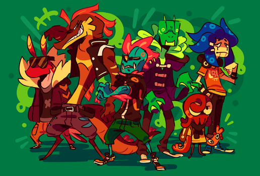 Deepsea Delinquents by Ionic-Isaac