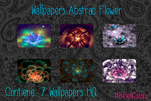 Wallpapers Abstract Flower by BelenGalaxy