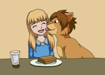girl and lion 15 by sushy00