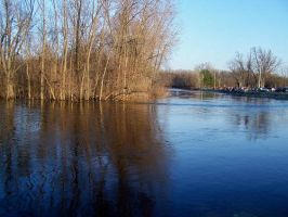 Wolf River, Fremont, WI by charliemarlowe