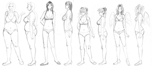 Mainframe-tans body references by BellaCielo