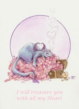 I will treasure you with all my Heart by Ejderha-Arts