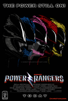 Power Rangers Movie Poster - 1995 redesigned by khriztian