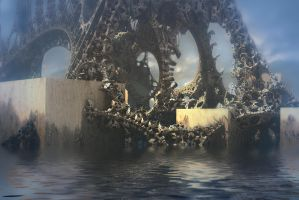 Mutant Artificial Corral Reef by HalTenny
