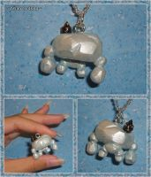 Zelda BOTW - Frost Talus with Rare Ore Charm by YellerCrakka