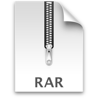 Mac OS X .rar icon by zingeddy