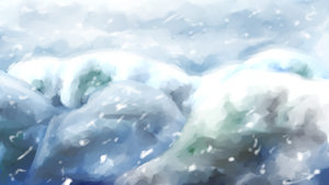 Snowy Mountains by ddddspup