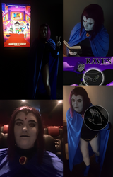 Teen Titans Raven Go! to the Movies by MistiqueFour