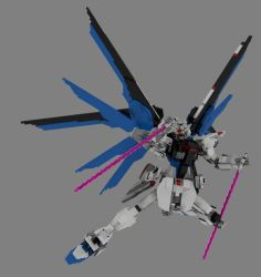 Lego Freedom Gundam Version 3.5: Slash! by mithrylaltaire