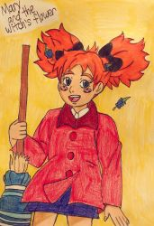Red-headed witch by angry-toon-link
