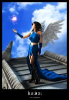 Blue Angel by Fredy3D
