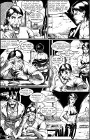 Life-Time #1 Pg 25 by Alf-Alpha