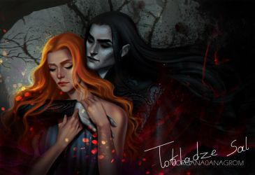 Hades and Persephone by MORGANA0ANAGROM