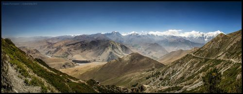 East from Bhima Lojun La by Dominion-Photography