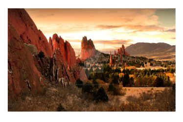 GARDEN OF THE GODS by ScarredWolfphoto